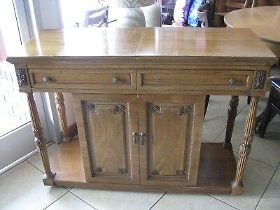 Vintage Dining Room set-Table 6 chairs, buffet, china cabinet