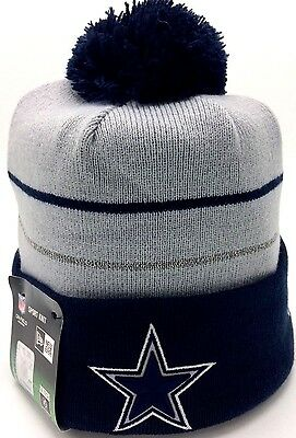 fe8bc7012 ... sale nfl dallas cowboys on field side line 2014 thanksgiving new era  knit beanie hat 626b9