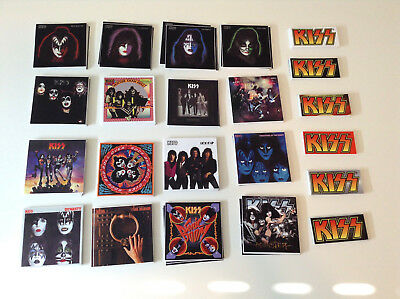 KISS Decal Sticker - Lot of 22 - Gene Simmons Destroyer Paul Stanley Ace Frehley