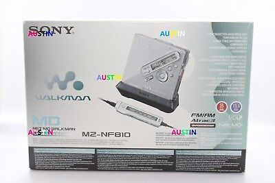 Sony Mz Nf810 Net  Md  Minidisc Recorder With Microphone