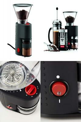 Bodum Bistro Burr Grinder, Electronic Coffee Grinder with Continuously...