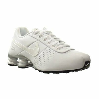 separation shoes 85eae 8a277 ... coupon code for big kids nike shox deliver pnt running shoes new white  silver msrp 90