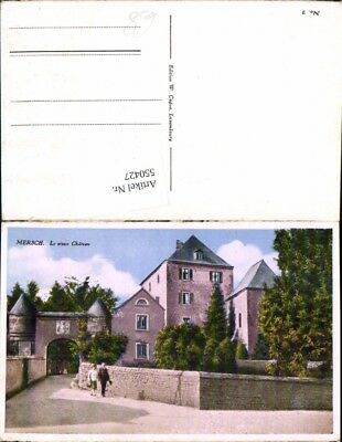 550427,Luxembourg Luxemburg Mersch Chateau
