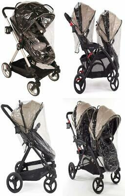 Contours Weather Shield Accessory for Single & Double Strollers,...