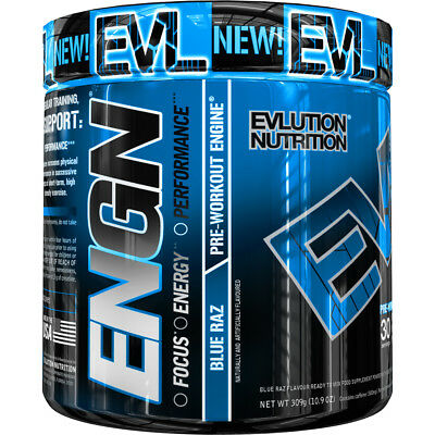 Evlution Nutrition ENGN Intense Pre-Workout Powder for Increased Energy EVL