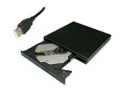 USB External DVD Combo CD-RW Burner Drive Black
