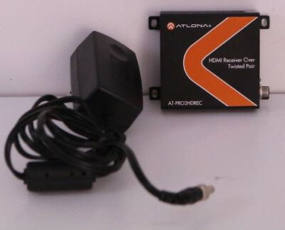Atlona AT-PRO2HDREC HDMI Receiver Over Twisted Pair Balun Over 25 sold!