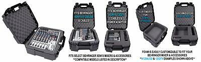 Casematix 17 Inch Audio Mixer Carrying Case Compatible with Behringer...