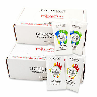 Bodipure Keratin Gloves & Socks All-In-One Hand & Foot Treatment (Pick your own)