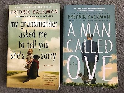 Fredrik Backman: A Man Called Ove, My Grandmother Asked Me To Tell You She's..