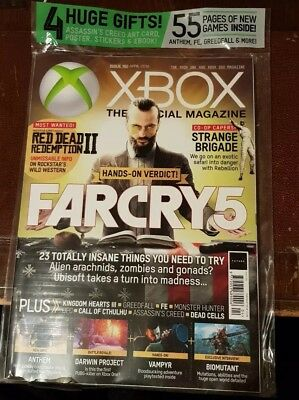 Official XBOX ONE Magazine 162 April 2018 - Far Cry 5 - Subscriber Cover