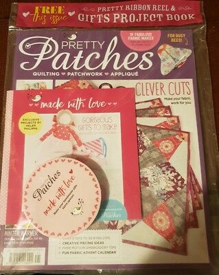 Pretty Patches magazine issue 41 November 2017 + Free Gifts
