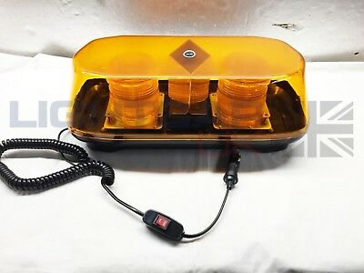Xenon Mini R10 Double Beacon Recovery Rescue Strobe Warning Magnetic Lightbar