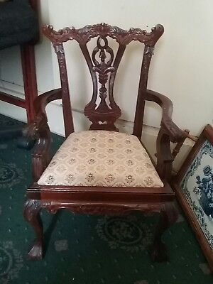 Chippendale  style  apprentice  chair  (20 inches  high)