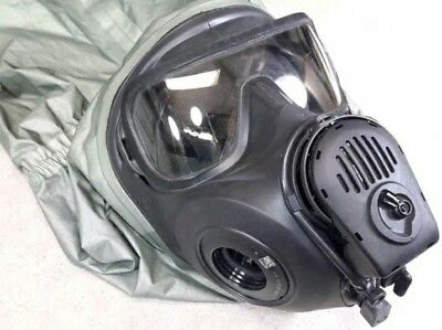 Avon FM53 GAS MASK Chemical Biological Protective Hood