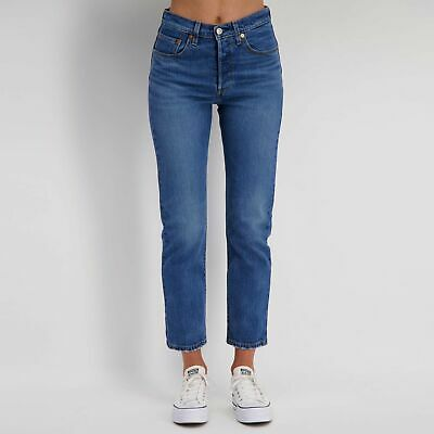 City Beach Levi's 501 Cropped Jeans