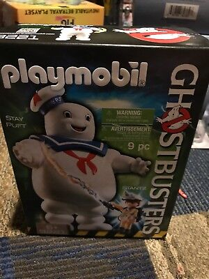PLAYMOBIL Ghostbusters Stay Puft Marshmallow Man 9221 BRAND NEW FACTORY SEALED