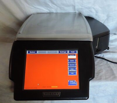 Hobart Hlxwm Digital Touchscreen Commercial Deli Food Scale & Printer
