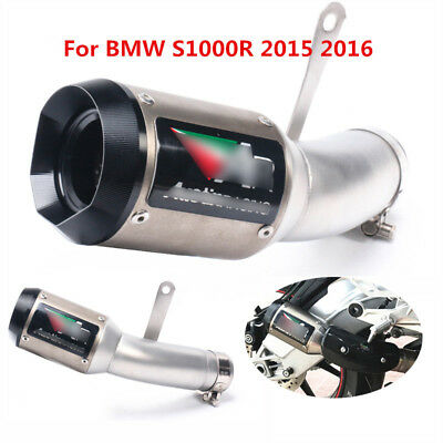 For BMW S1000RR 2015 2016 Motorcycle Exhaust System Pipe Slip on Muffler Tips