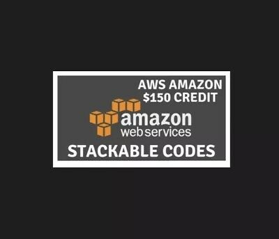 👍 $150 Amazon Web Services AWS Credit Code.