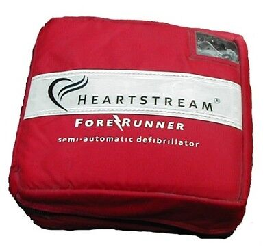HeartStream ForeRunner Semi Automatic AED, Portable, Lightweight, LCD Display