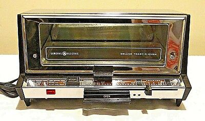 Vintage General Electric Toast R Oven Ge Toaster Counter Top Model 1350 Watts