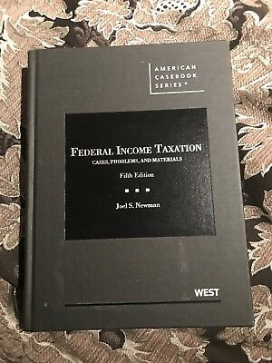 American Casebook: Federal Income Taxation : Cases, Problems, and Materials...