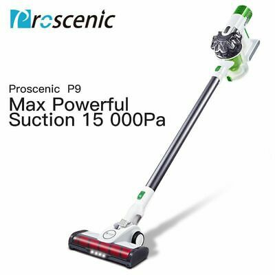 Proscenic Animal Vacuum Cleaner 15000PA Cordless Handstick Carpet Mop Recharge