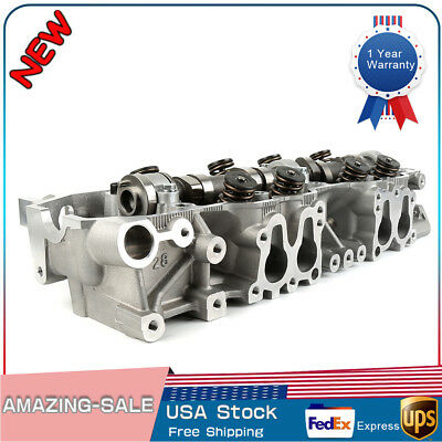 COMPLETE CYLINDER HEAD Fits For 85-95 Toyota 2 4L SOHC 22R 22RE 22REC Non  Turbo