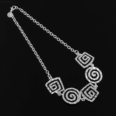 533F New Women/Girls 925 Sterling Silver Necklace Pendent Choker Jewelry Gift