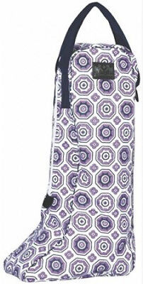 Equine Couture Kelsey Boot Bag Purple. Free Delivery