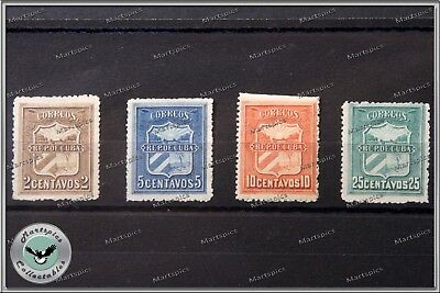 1896 Revolutionary War Of Independence Correo Mambi Stamps Very Rare