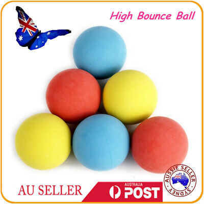 12pc Handballs High Bounce Square Ball Mix Colors Play Toy Reliever Pet Dog BALL
