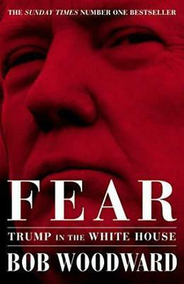 Fear: Trump - Bob Woodward - Free Shipping - Hardcover