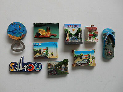 One Selected Souvenir Fridge Magnet from Salou Spain