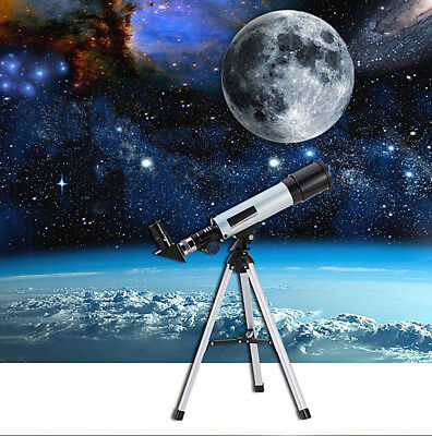 360x50mm Astronomical Telescope Refractor Monocular Scope + Tripod Gift for Kids