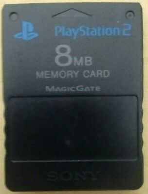 FREEMCBOOT PlayStation PS2 8MB Memory Card preloaded with FMCB Free McBoot 1.8