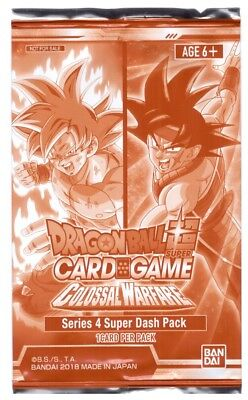 Dragon Ball Super DBS Card Game Colossal Warfare Series 4 Super Dash Pack