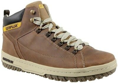 8321915dd135 CAT CATERPILLAR APA Hi P711589 Leather Sneakers Casual Trainers Shoes Boots  Mens - EUR 77,99 | PicClick FR