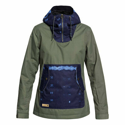 Dc shoes w skyline anorak jacket beetle fw 2019 giacca snowboard donna new s m l