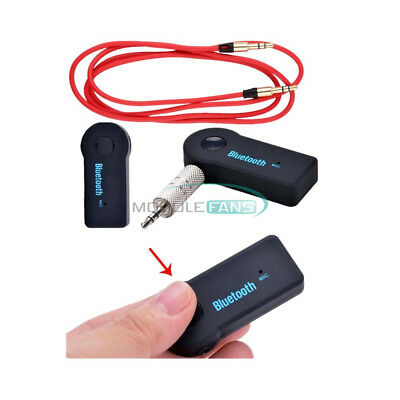 3.5mm Wireless Bluetooth V3.0 Stereo Audio Car Receiver+3.5mm Audio Cable for PC