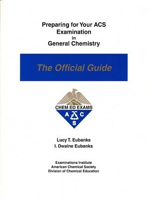 (PDF) Preparing for Your ACS Examination in General Chemistry: The Official 2010