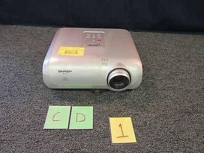 Sharp Xr-10S Dlp Notevision Projector Home Theater Office Presentation Used
