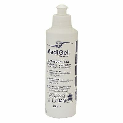 MediGel Medical Pregnancy Ultrasound Fetal Doppler Transmission Gel 250ml Bottle