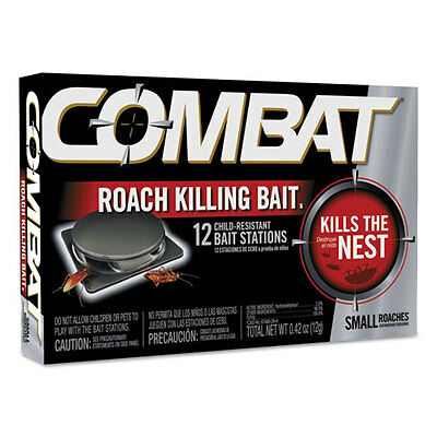 Combat Small Roach Bait 12 baits per Pack 41910