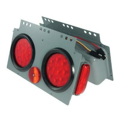 Grote 51002 - Red SuperNova LED Stop Tail Turn Power Module with Side Marker