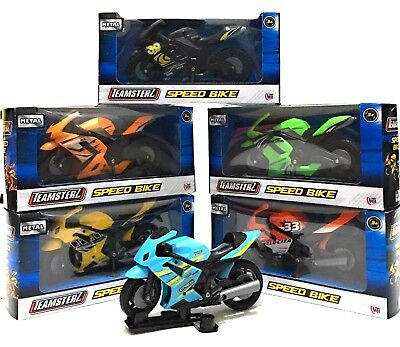 Metal Speed Motorbike Toy Motorcycle Street Machine For Boys Great Gift Assorted