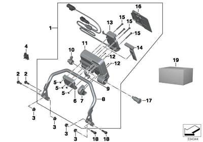 2012-2018 Bmw R1200 Gs Gps Mounting System - 50% Off Clearance Parts