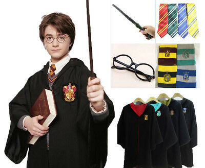Halloween Christmas Cosplay Gryffindor Harry Potter Costume for Kids or Adult