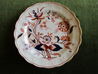 Antique Porcelain Teaplate Booths Fresian Made in England